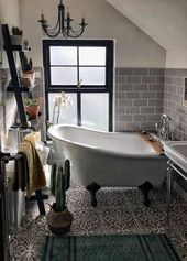 Trendy Bath Room Big Window Ceilings Ideas