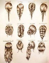 Einfache Frisuren Fur Lange Haare Zu Hause Zu Tun Einfache Frisuren Haare Medium Hair Styles Braided Hairstyles Easy Hairstyles For School