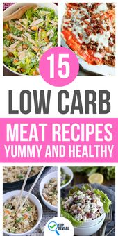 15 Low Carb Meat Recipes – Yummy and Healthy