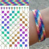 "Margarita Fesenko on Instagram: ""My recolor for this pattern☺ Galaxy stripe …"