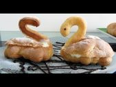 Photo of Delicious Eclairs Swans with custard eclair cakes – pr …