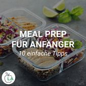 Meal Prep for Beginners – Lose weight and build muscle with precooking
