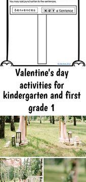 Valentinstagaktivitäten für Kindergarten und 1. Klasse – Alle