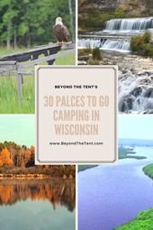 30 Of The Best Places To Go Camping In Wisconsin – #camping #Places #Wisconsin  – tent camping