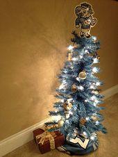 FTH 60629 University of North Carolina Tarheels Basketball Jersey Snowman Christmas Ornament