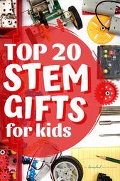 Top 20 des cadeaux STEM pour les enfants!