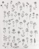 55 Simple Small Flowers Tattoos Drawing Tattoos Ideas For Women This Season – journal