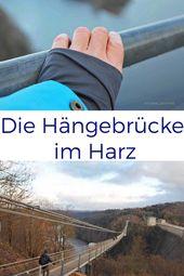 Mutprobe im Harz: Die wackelige Hängebrücke im Rappbodetal – Harz by indigoblau