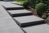 Signo step plates – Rinn concrete blocks and natural stones   – Aufgang
