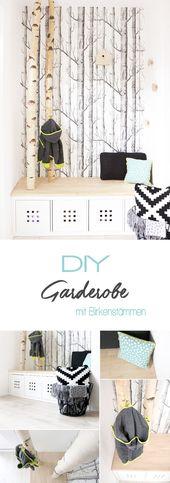 Dani von Gingered Things zeigt ihr, wie sie aus einem Kallax-Regal von Ikea und B …   – Flur / Corridor
