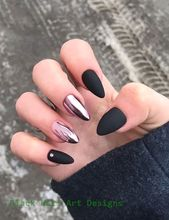20 einfache schwarze Nail Art Design-Ideen #blacknails – Dark Nails