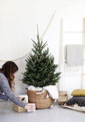 Photo of Ein Scandi-Chic Weihnachtsbaum für kleine Räume – Front + Main