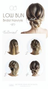 30 Timeless Bridal Hairstyles ♥ If you're still looking for a great hairstyl…