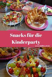Cumpleaños de niños, princesa de fiesta temática, bricolaje, descarga, bocadillos, comida, para niños …   – essen und trinken