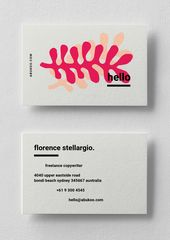 Illustrator Business Card Business Card Template | Illustrated Design Series - Abukoo