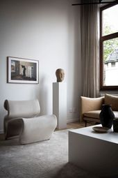 Refined Swedish Apartment in Earthy Tones + 5 Tips to Make Your Home More Elegant