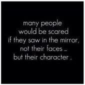 Viele Menschen hätten Angst, wenn sie im Spiegel nicht ihre Gesichter sehen – sondern die … – Personal development