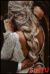 Bridal hair vine long hair vine wedding headband b #bohemian #boho #Boho_Wedding_groomsmen_beautiful #Bridal -