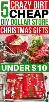 5 Crazy Cheap Christmas Gift Baskets From the Dollar Store Under $10