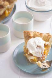Klassische Pfirsichpastete | Pfirsiche bitte   – Pie Recipes