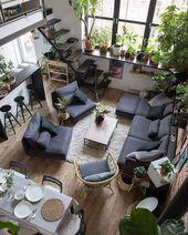 Wohnzimmer Wanddekoration Ideen mit kleinem Budget…