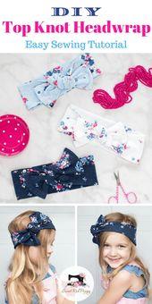 58c8ea9fa5e0bc554c5eac28bafdec3c - Top Knot Bow Head Wrap Sewing Tutorial