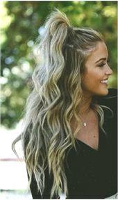 50 einfache Sommerfrisuren zum Selbermachen #curlyhairstyles #simplecurlyhairstyles