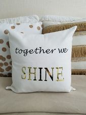 How To Make A Custom Pillow Cover The Honeycomb Home Diy Pillow Covers Custom Pillow Covers Diy Pillows