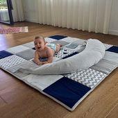 Articles similaires à Bébé jouer tapis, tapis de bébé, bébé activité tapis, tapis de jeu bébé Jungle, Decor salle de jeux, jaune et brun Beige sur Etsy