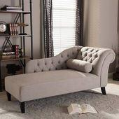Willa Arlo Interiors Melania Chaise Lounge & Bewertungen | Wayfair   – Bedroom
