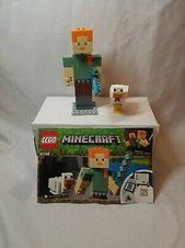 NEUE Lego Minecraft 21149 Alex BigFig Huhn Big Figure Steve #afflink Enthält …   – Lego Minecraft