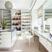 46+ Trendy Makeup Vanity In Closet Walk In Spaces