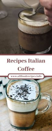 Recipes Italian Coffee