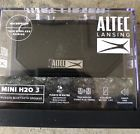 Altec Lansing Mini H20 3 Bluetooth Speaker Black Imw259 Blk
