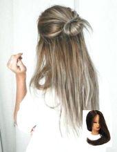 #Hair #homecoming Hairstyle #Naturally #SMOOTH #Straight Smooth Straight Hair Na…