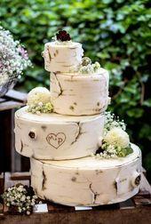 4-stöckige Hochzeitstorte I Ideas & Inspiration   – Hochzeitstorten