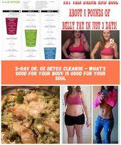 3-tägige Dr. Oz Detox-Reinigung 3-tägige Diät 3-tägige Dr. Oz Detox-Reinigung – was ist los …   – diet-plan-gain-muscle