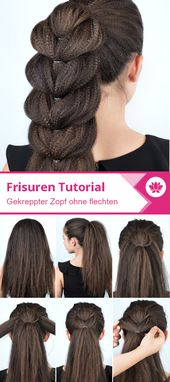 Simple creped braid