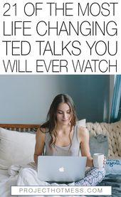 21 der lebensveränderndsten TED-Gespräche, die Sie jemals sehen werden