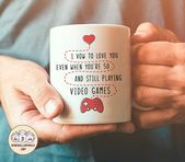 I Vow to Love You, funny saying gift for boyfriend, mug for him, video games lover gift, funny mug for boyfriend, quote mug, nerdy mug