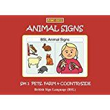 Animal Signs Set 1 Pets Farm And Countryside British Sign Language Bsl Let S Sign Early Years British Sign Language Pet Signs Sign Language