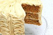 Pastel de zanahoria- Una mezcla de pastel doctorado   – Desserts