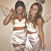 Engel Kostüm selber machen