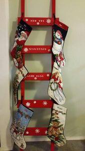 Photo of Kreative Weihnachts-DIY-Dekorationen Einfach und günstig – Weihnachtsleitern