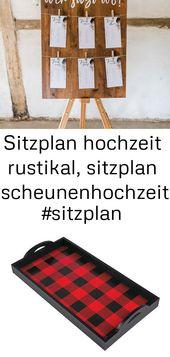 Sitzplan Hochzeit rustikal, Stallhochzeit #Sitzplan #Hochzeit #Sitzplan #Tischplan 1   – Alle