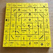"""Selfmade Trinkspiel auf dem Ikea """"Lack""""-Tisch,…"""