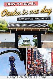 Day Trip to Osaka 1 Day Itinerary: Top Attractions & Food Guide