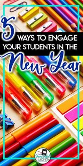 5 Methods to Have interaction Your College students within the New Yr