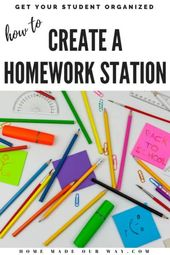 Homework Station – Methods to Create and Set up One for Your Children