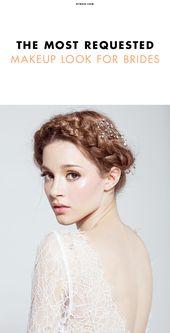 Dies ist der am häufigsten nachgefragte Braut Make-up Look von 2015   – Bridesmaid makeup